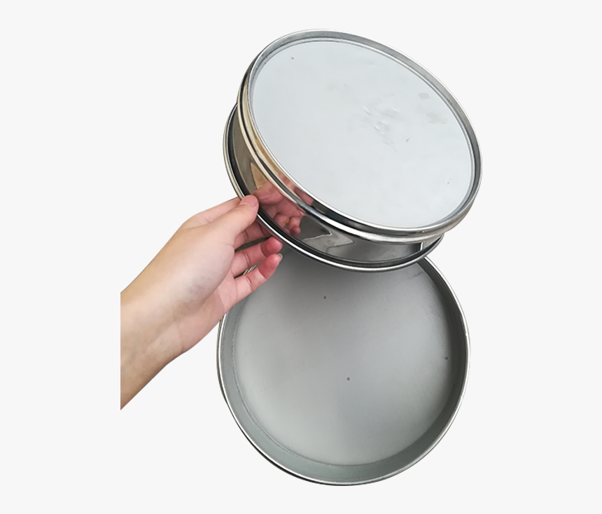 60 Mesh Stainless Steel Circle Flour Sieve Filter Screen - Steel, HD Png Download, Free Download