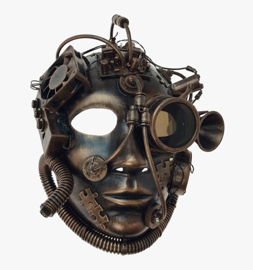 Venetian Mask Transparent Images - Copper Mask, HD Png Download, Free Download