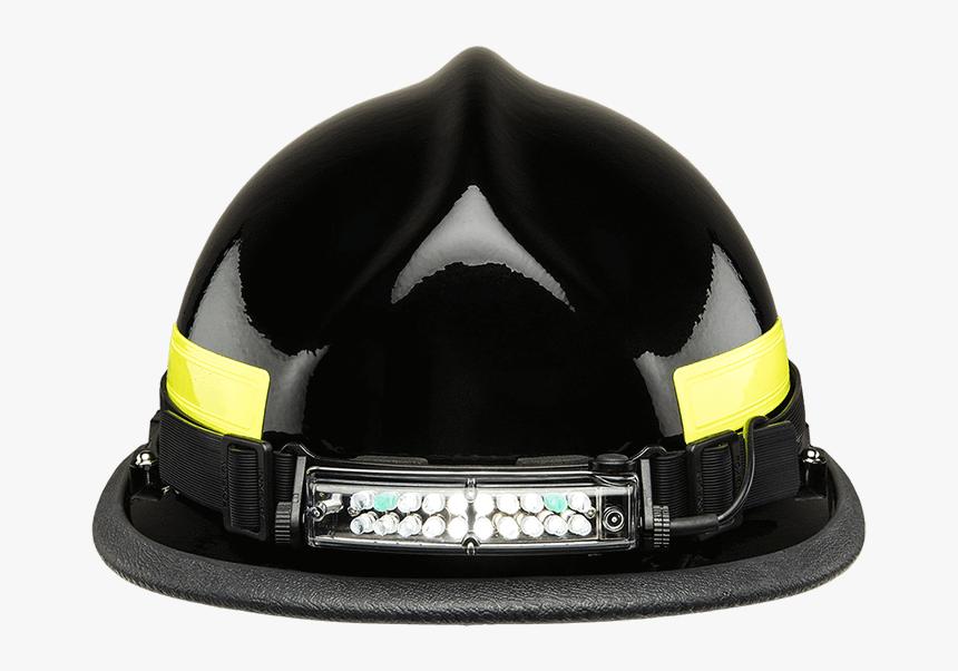 Foxfury Command Tilt White & Green Led Headlamp / Helmet - Safety Helmet With Lights, HD Png Download, Free Download