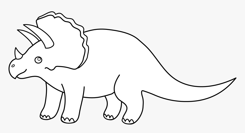 Dinosaurs Png Black And White Free Dinosaurs Black Black And White Free Cute Dinosaur Clipart Transparent Png Kindpng