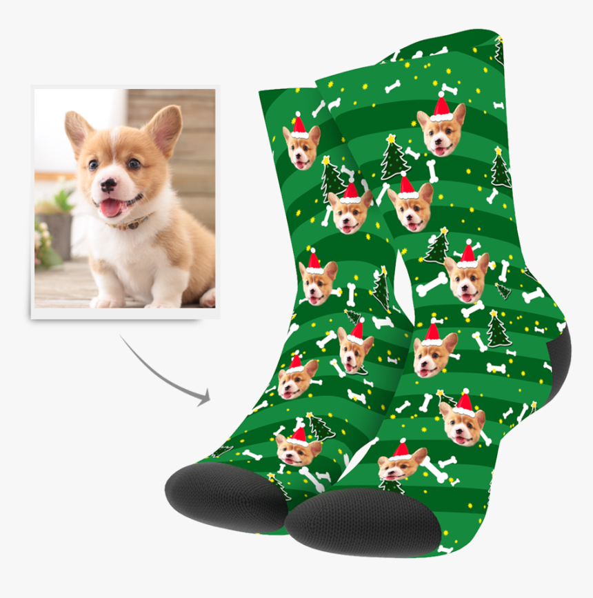 My Face Socks Christmas, HD Png Download, Free Download