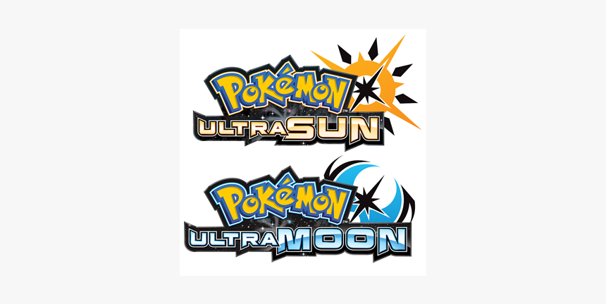 Pokemon Ultra Sun And Ultra Moon Title, HD Png Download, Free Download