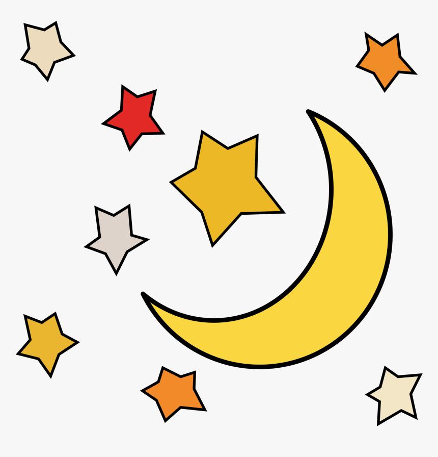 Sun Moon Stars Clipart At Getdrawings - Cartoon Moon And ... (860 x 896 Pixel)