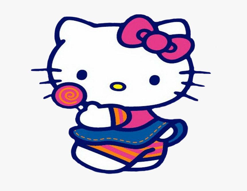 Hellokitty Cat Sanrio Chupachups Sweet 🍭🍭🍭 - Hello Kitty Crying Gif, HD Png Download, Free Download