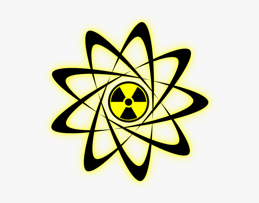 Nuclear Energy - Radiation Symbol, HD Png Download, Free Download