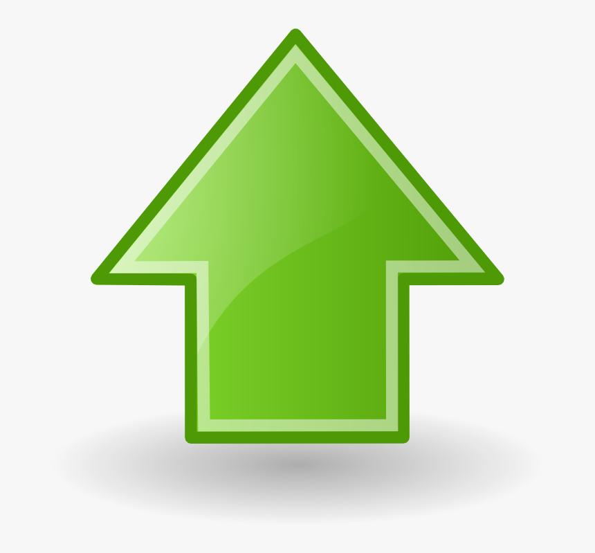 Green Arrow Up Png, Transparent Png, Free Download