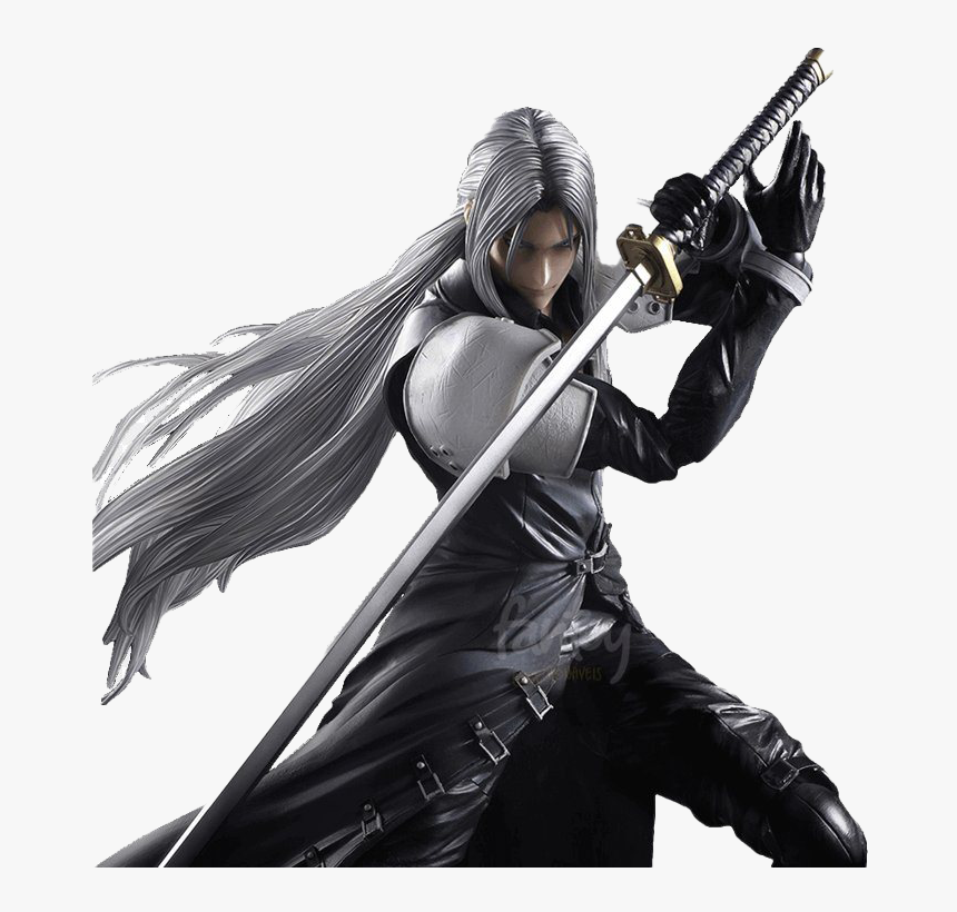 Final Fantasy Vii Remake Png Download Image Sephiroth Action Figure Transparent Png Kindpng