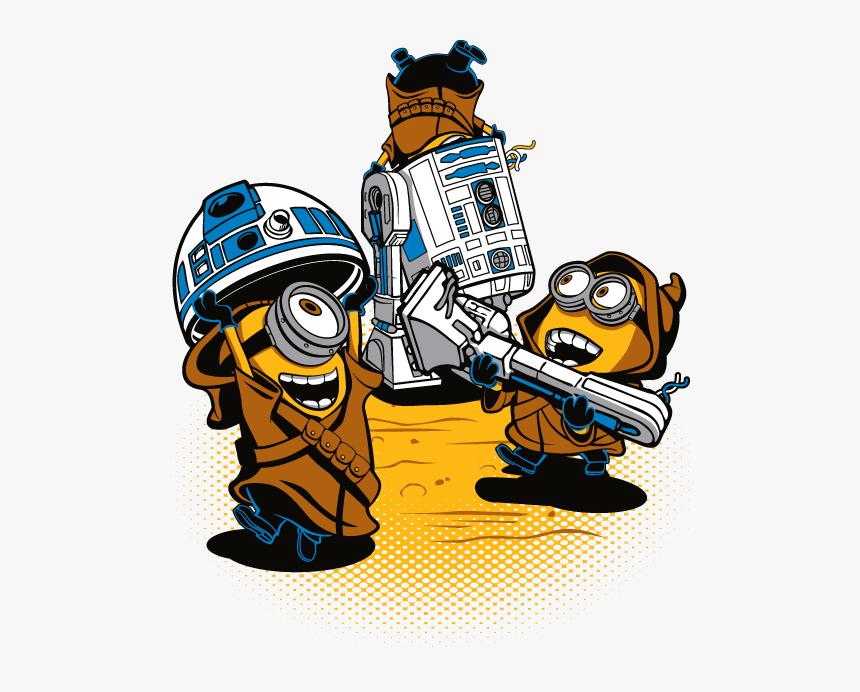 Jawa Star Wars Minions Hd Png Download Kindpng