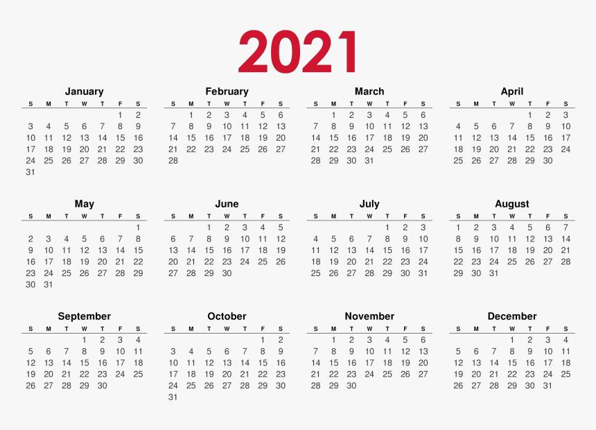 Monday To Friday Calendar 2021 Calendar 2021 Png Background Image   2020 Calendar Monday To