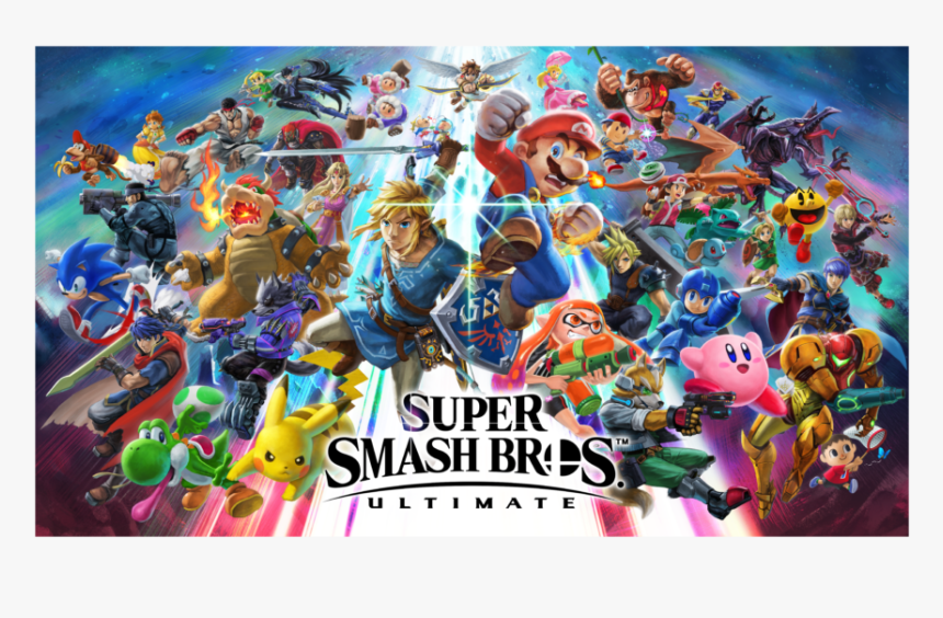 Super Smash Bros Ultimate Poster, HD Png Download, Free Download