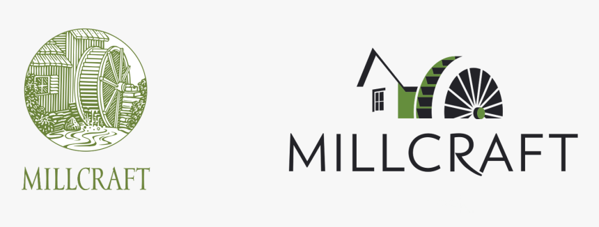 Millcraft Logo Branding Before And After - Millcraft Paper, HD Png Download, Free Download