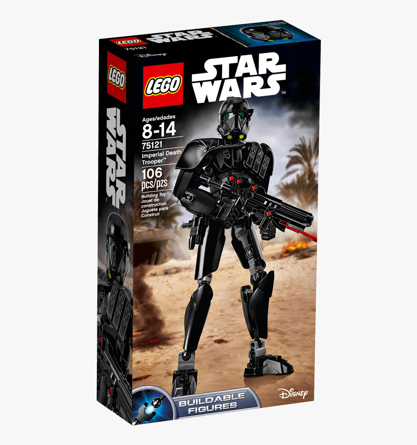 75121 Imperial Death Trooper - Lego Star Wars, HD Png Download, Free Download