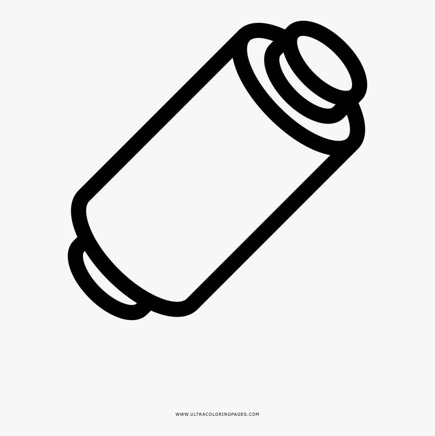 Spool Of Thread Coloring Page - Rocchetto Di Filo Da Colorare, HD Png Download, Free Download