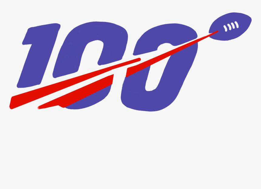 Transparent Nfl 100 Logo Png, Png Download, Free Download