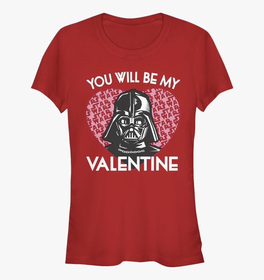 Junior Darth Vader Valentine Star Wars Shirt - T Shirt Valentines Star Wars, HD Png Download, Free Download