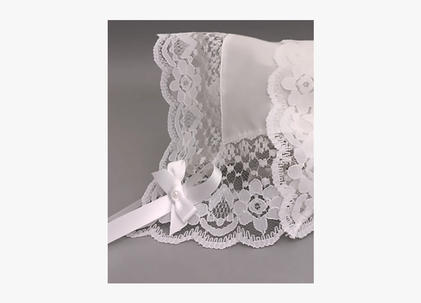 Glorious Lace Baby Handkerchief Bonnet - Lace, HD Png Download, Free Download