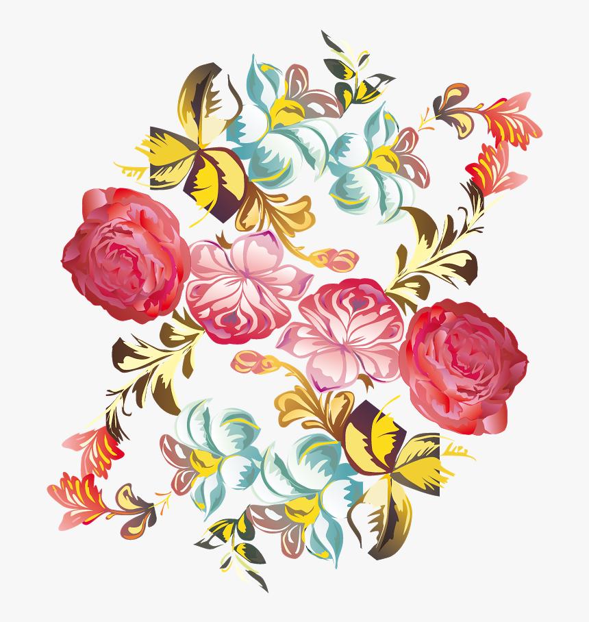 Como La Miel De Abejasmil Flores - Floral Letter Head Png, Transparent Png, Free Download