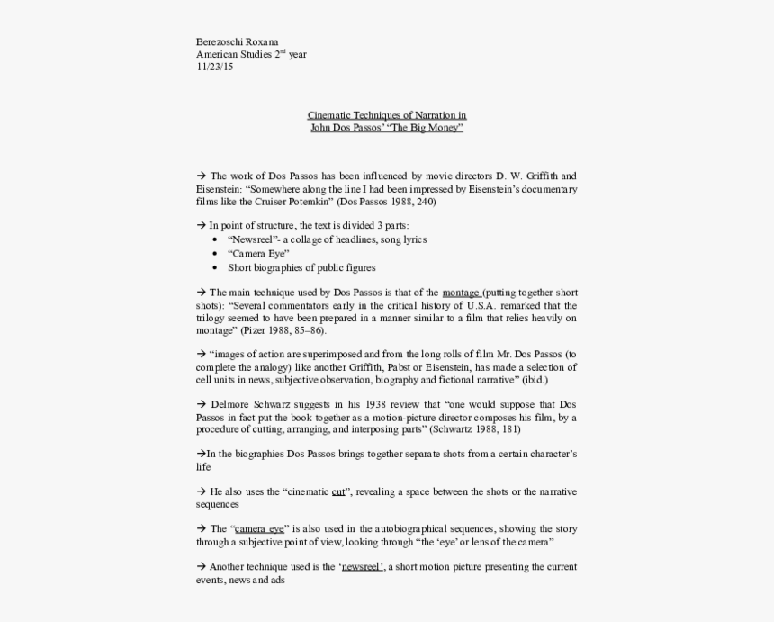 Cinematic Techniques - 1031 Exchange Agreement Sample, HD Png Download, Free Download