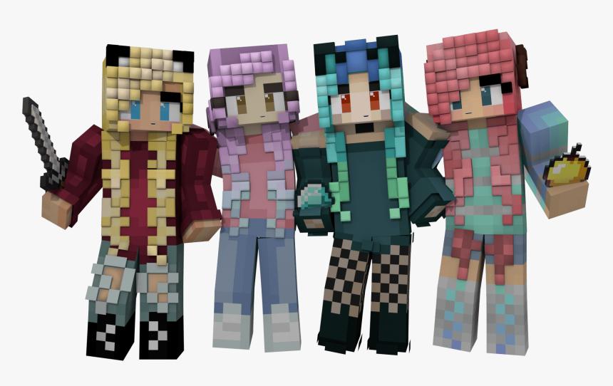 Renders Skins De Minecraft Png, Transparent Png, Free Download