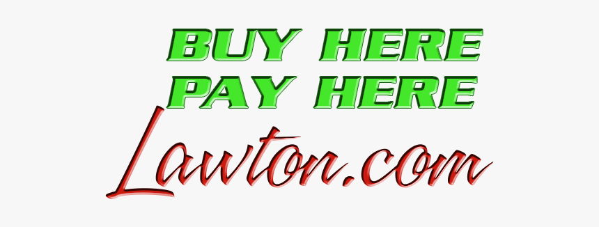 Buy Here Pay Here Lawton - Illustration, HD Png Download, Free Download
