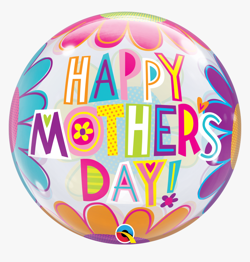 Bubble Balloon Qualatex Mother's Day, HD Png Download, Free Download