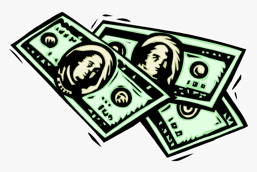 American Money Clipart Graphic Stock Dollars Clipart - Dollar Bills Clip Art, HD Png Download, Free Download