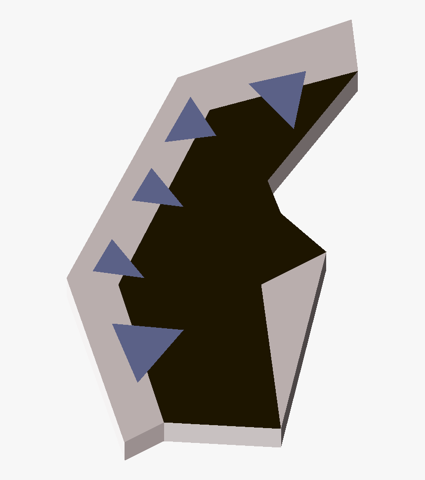 Old School Runescape Wiki - Triangle, HD Png Download, Free Download