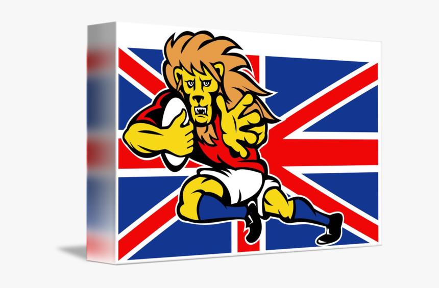 Transparent Rugby Clipart - Bandera De Bretaña, HD Png Download, Free Download