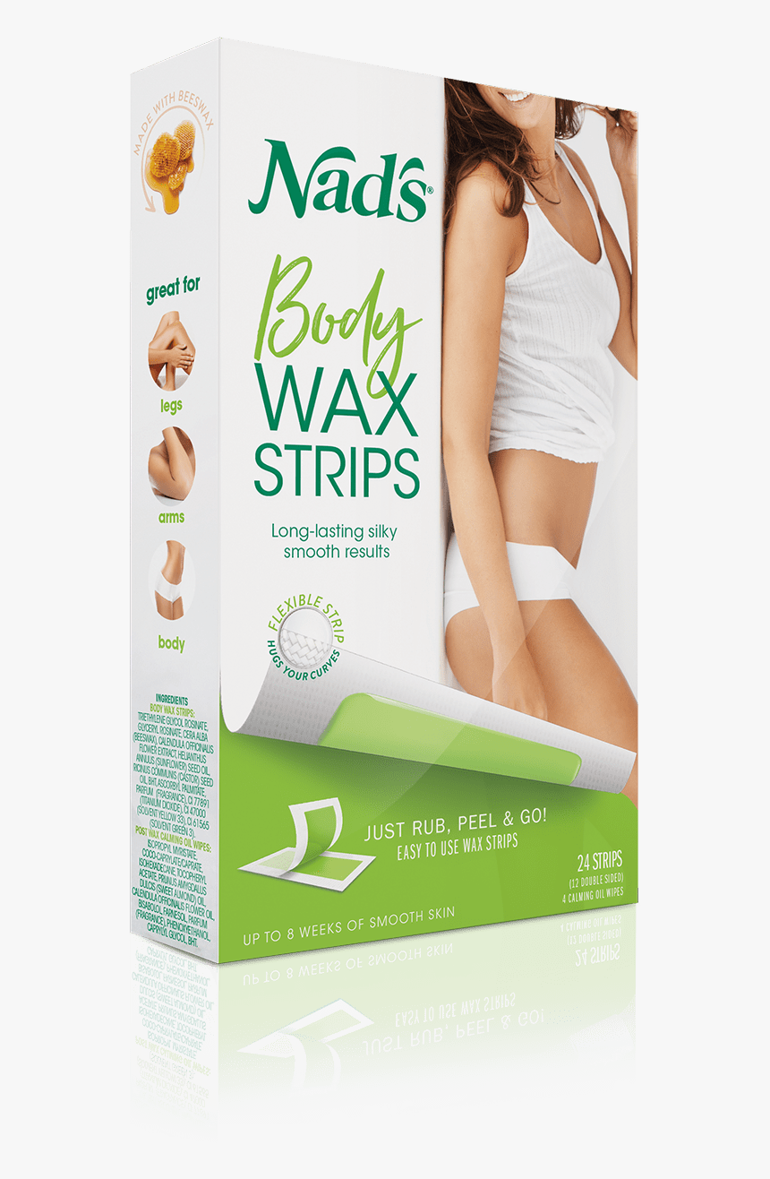 Nads Body Wax Strips, HD Png Download, Free Download