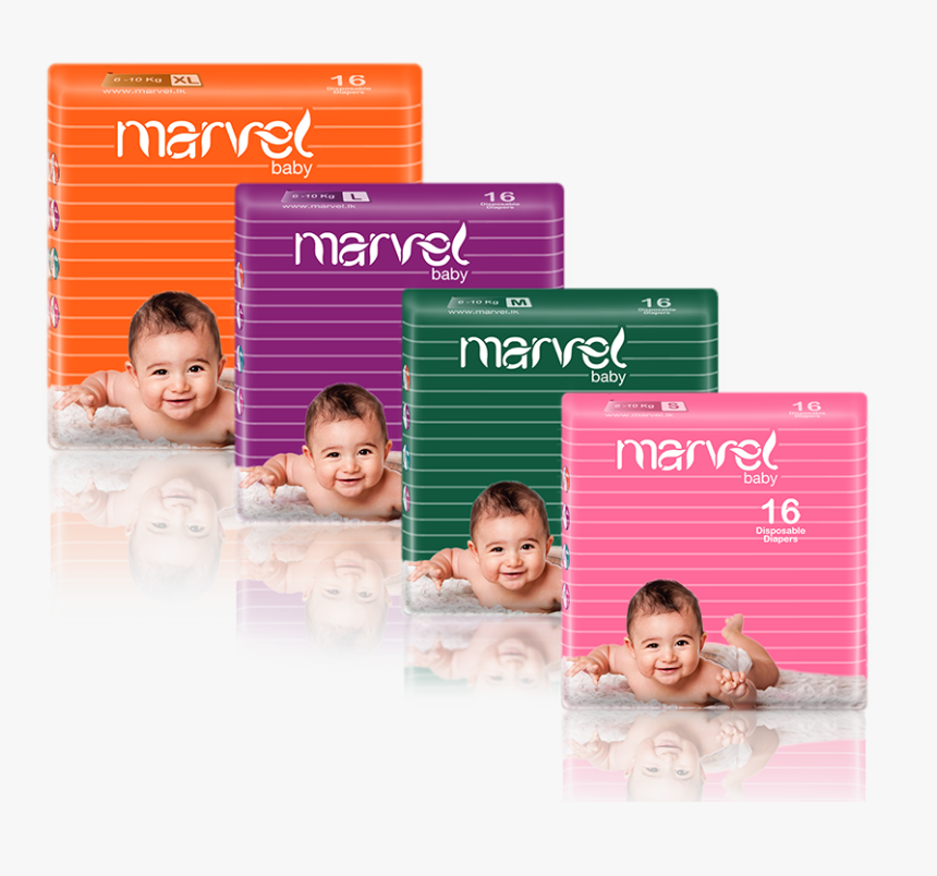 Marvel Baby Diapers 16 Pack - Baby Diapers Diapers In Sri Lanka, HD Png Download, Free Download