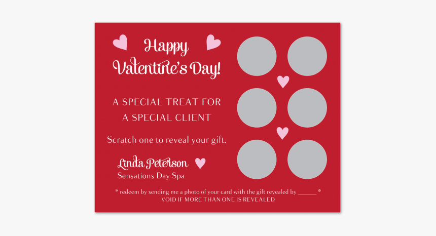 Valentines Day Scratcher Gift - Happy Valentines Day Clients, HD Png Download, Free Download
