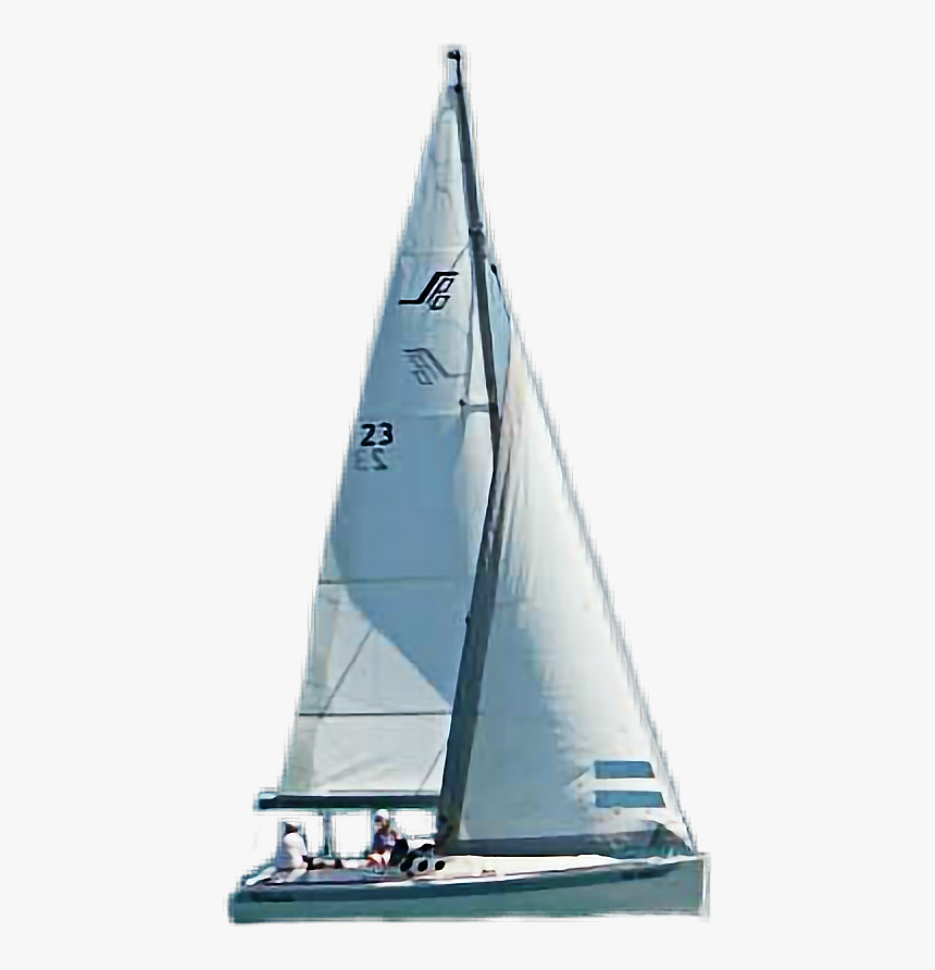#boat #sailboat #ircsailboatonthesea #sailboatonthesea - Sail, HD Png Download, Free Download