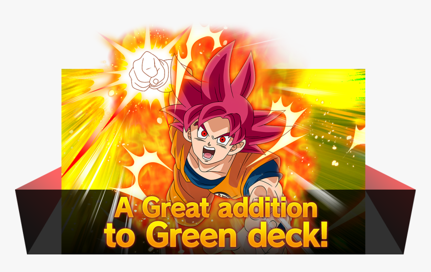 A Great Addition To Green Deck - Dragon Ball, HD Png Download, Free Download