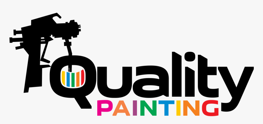 Logo Design By Moisesf For Quality Painting And Metal Painting Gun Logo Hd Png Download Kindpng