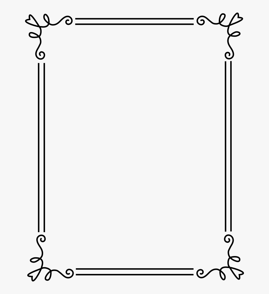 Transparent Free Vector Clipart - Simple Frames And ...