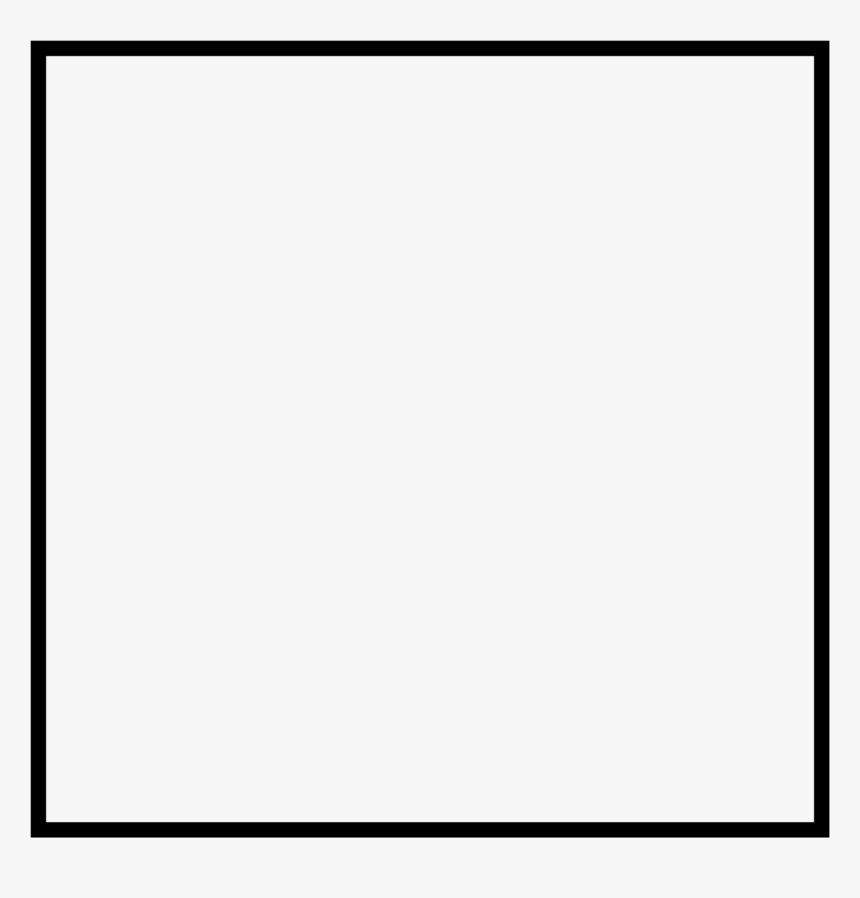 #black #blackborder #blackframe #border #frame #sticker - Paper Product, HD Png Download, Free Download