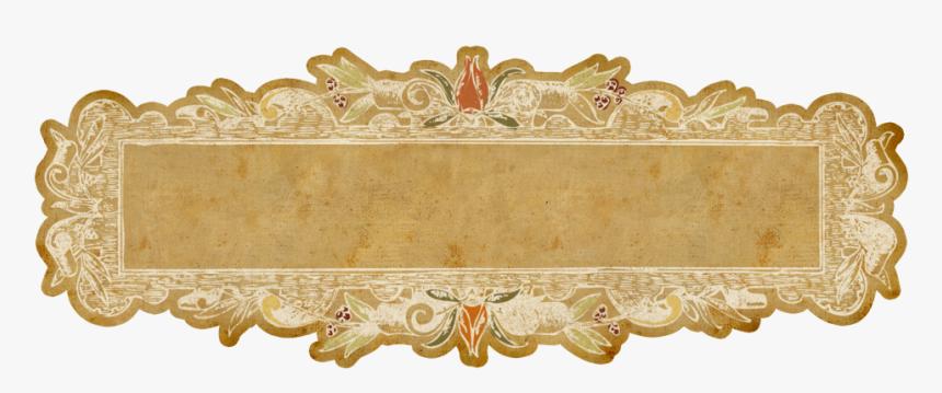Golden Label Transparent Image - High Resolution Transparent Background Golden Frame, HD Png Download, Free Download