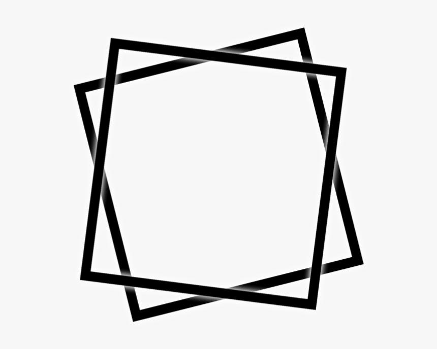 Transparent Black And White Border Png - Square Border Frame Png, Png Download, Free Download