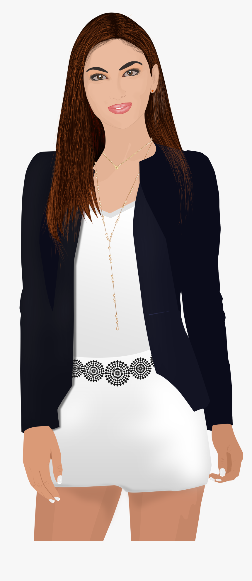 Office Woman Transparent Background, HD Png Download, Free Download