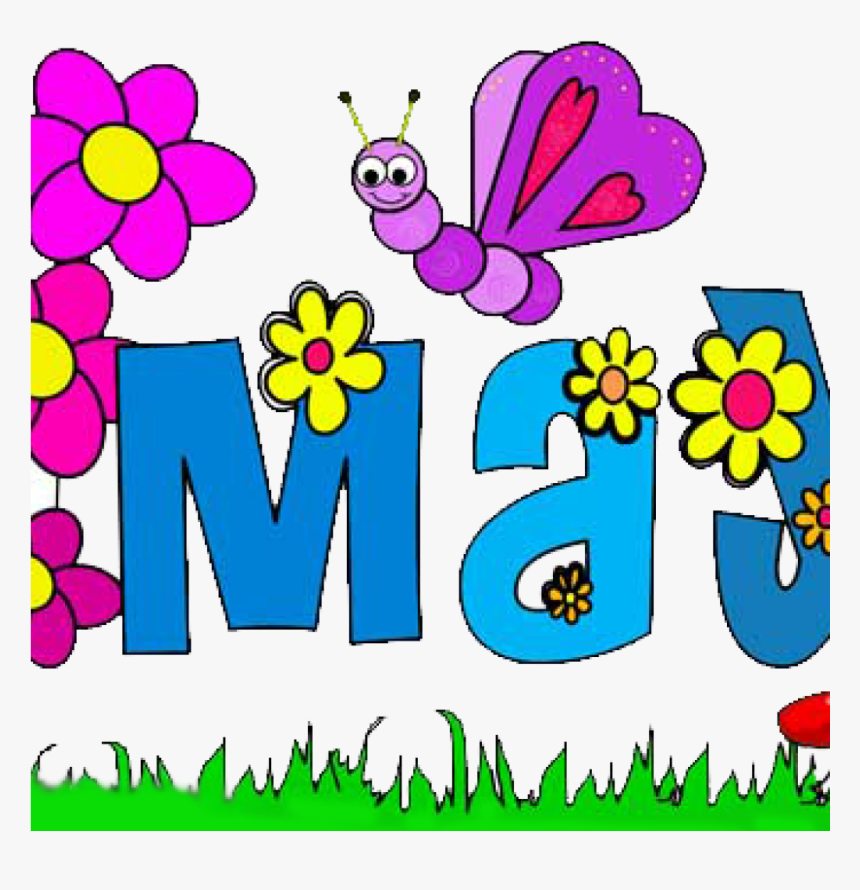 Free May Flowers Clip Art Techflourish Collections May Birthday Clip Art Hd Png Download Kindpng