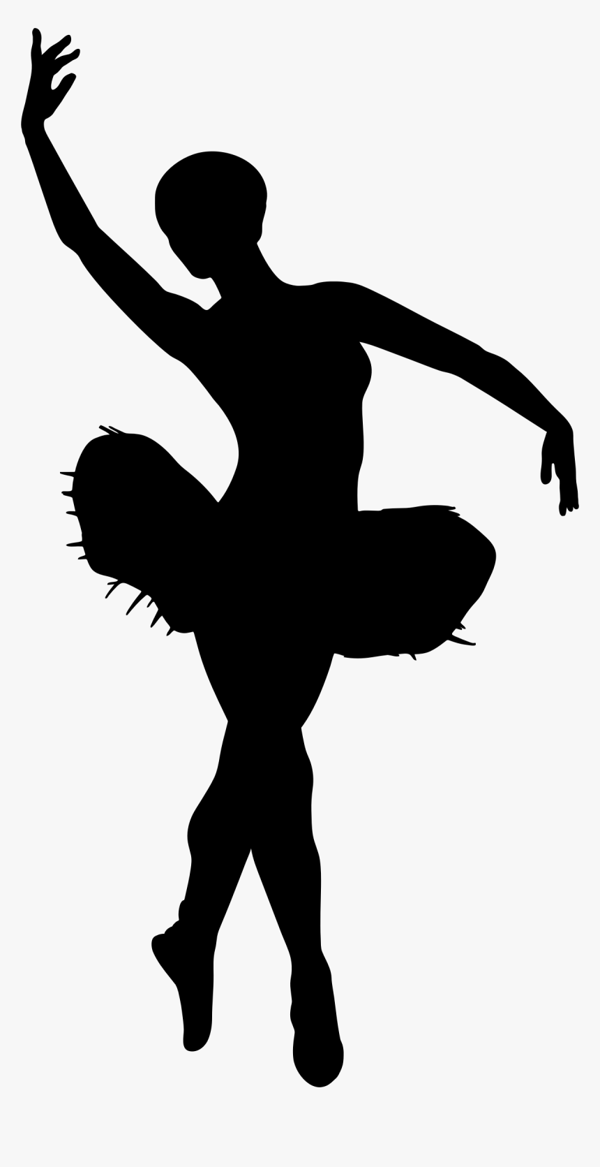 Free Ballet Cliparts Download Ballerina Silhouette Transparent Hd Png Download Kindpng