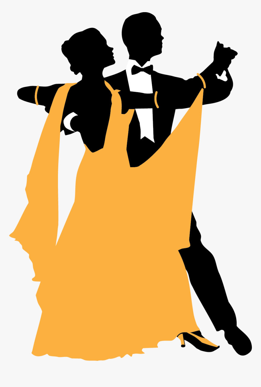 Ballroom Dance Swing Waltz Waltz Ballroom Dancing Silhouette Hd Png Download Kindpng