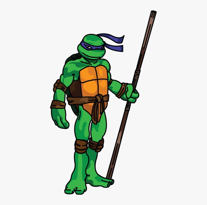 Transparent Teenage Mutant Ninja Turtles Faces Clipart - Teenage Mutant Ninja Turtles Drawings Donatello, HD Png Download, Free Download