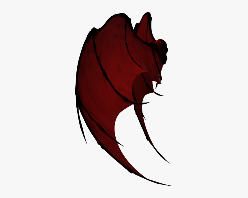 Demon Png Free Download - Dragon Wing Transparent Png, Png Download, Free Download
