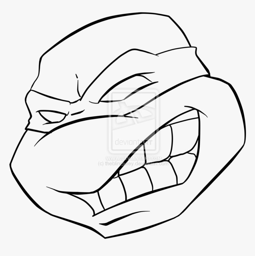 Leonardo Ninja Turtle Sword Clipart - Leonardo Ninja Turtles Drawing, HD Png Download, Free Download