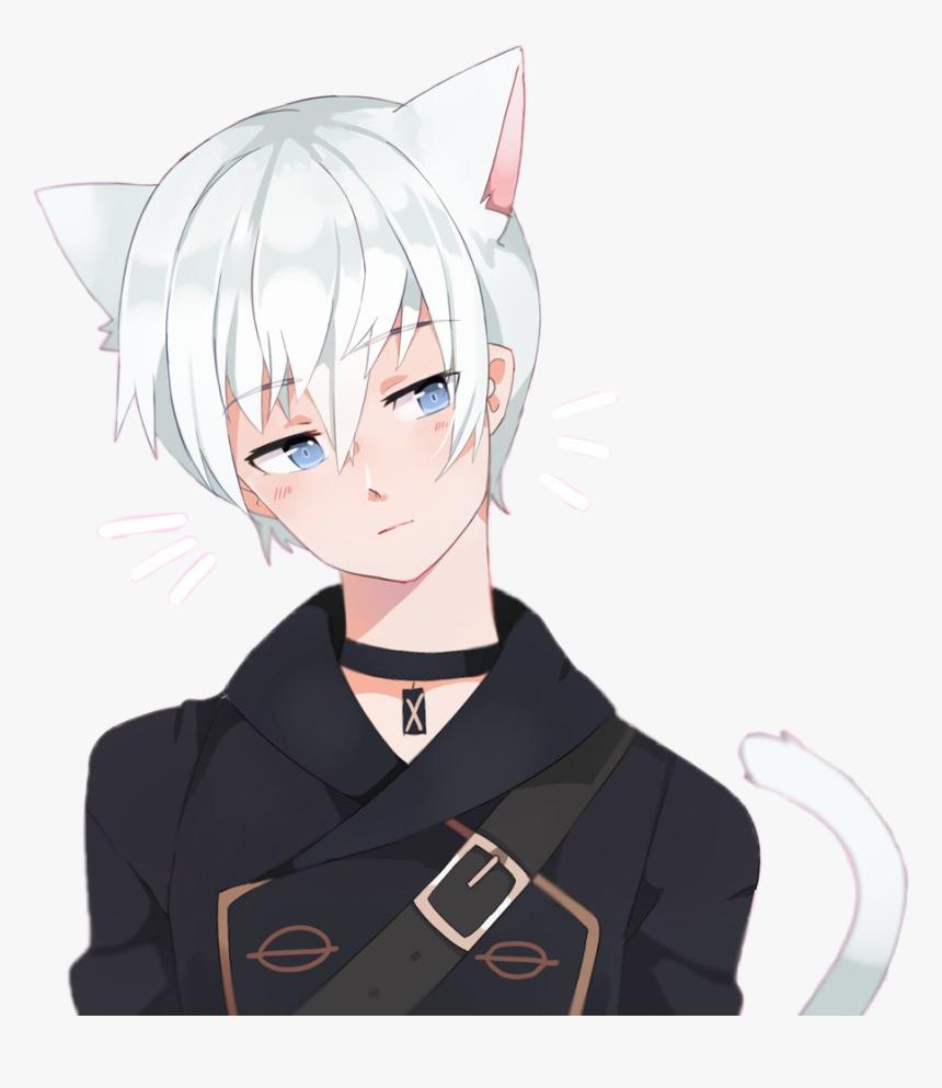 #nekoboy #neko #cat #anime #manga #boy #kawaii #cute - Anime Kawaii Neko Boy, HD Png Download, Free Download
