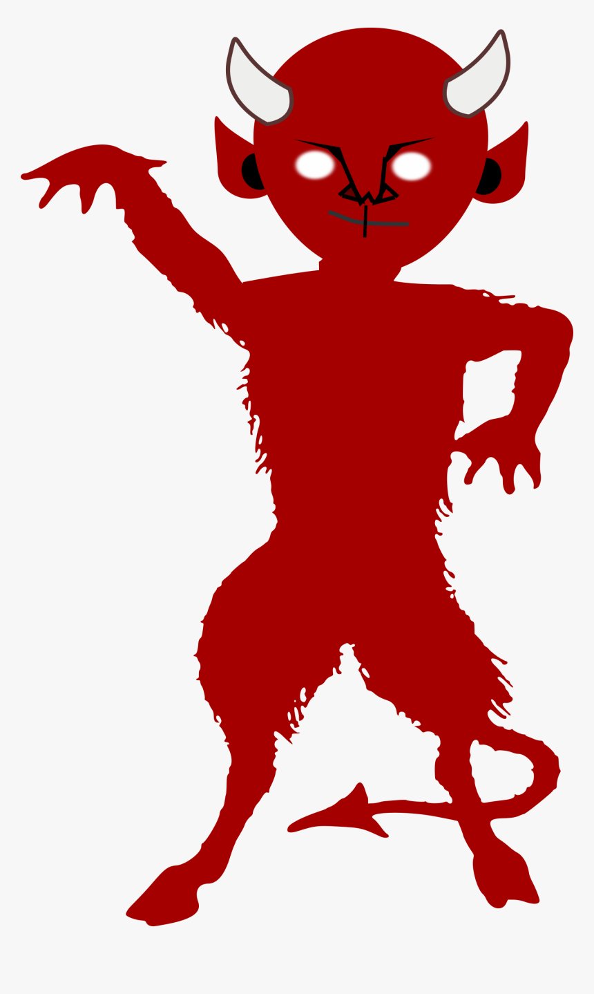 Small To Medium Sized Cats,organ,carnivoran - Evil Demon Silhouette, HD Png Download, Free Download