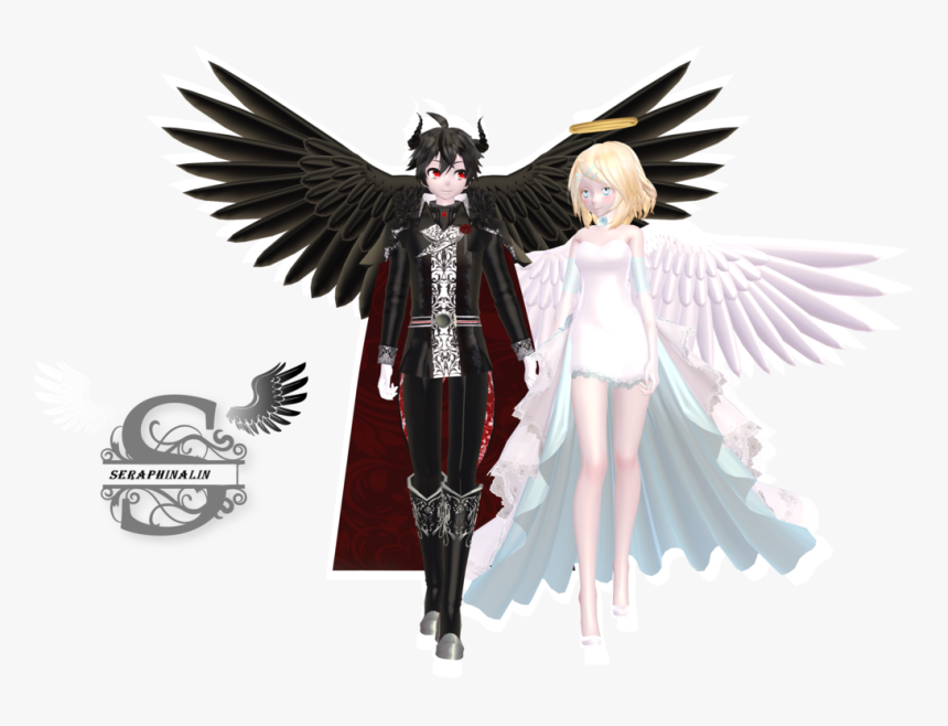 Demon And Angel Clothing, HD Png Download, Free Download