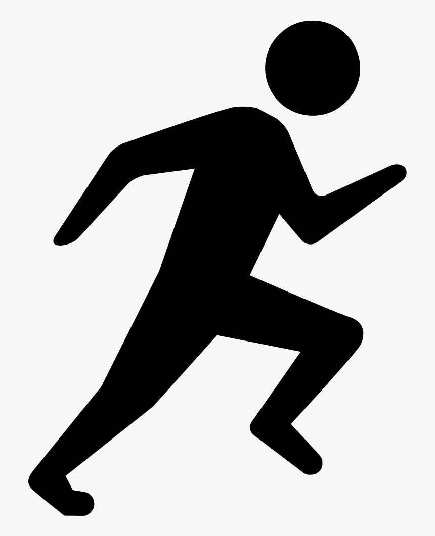 Person Running - Person Running Icon Png, Transparent Png, Free Download
