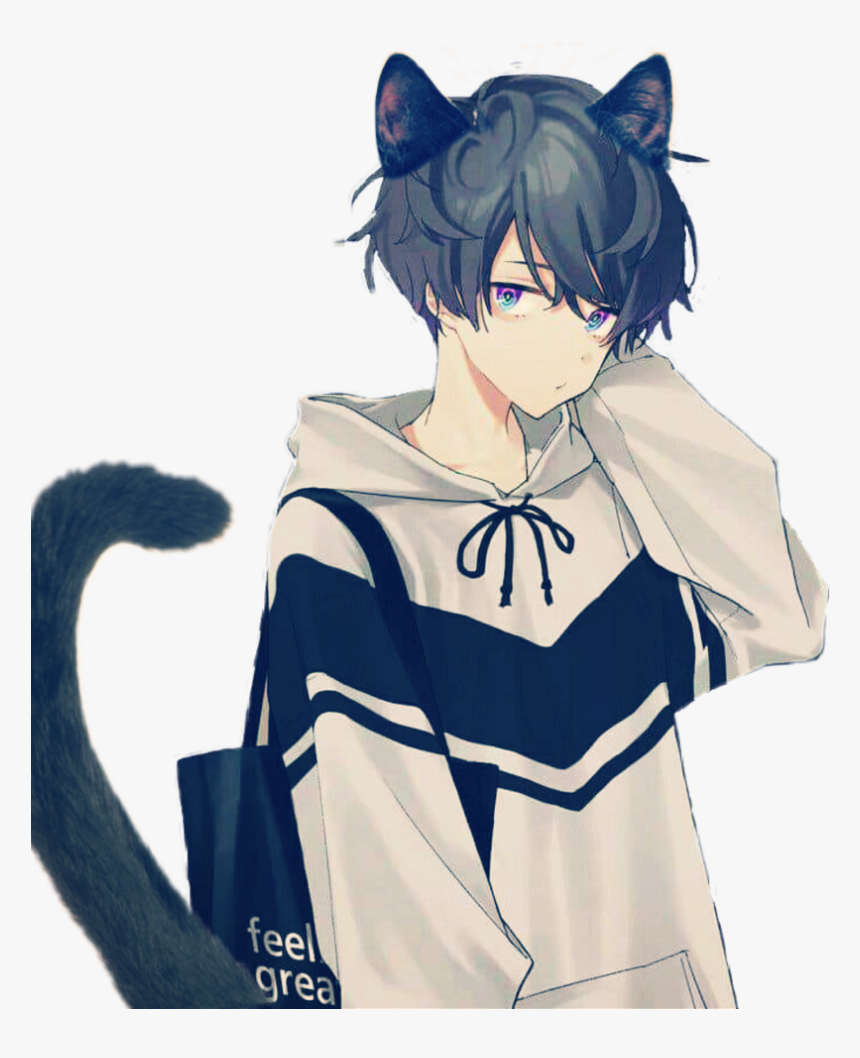 Neko - Cute Anime Boy Png, Transparent Png, Free Download